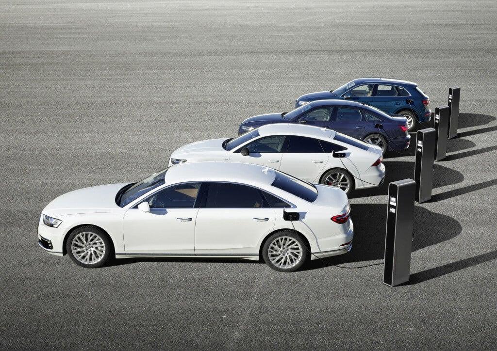 Audi TFSI e: gama.