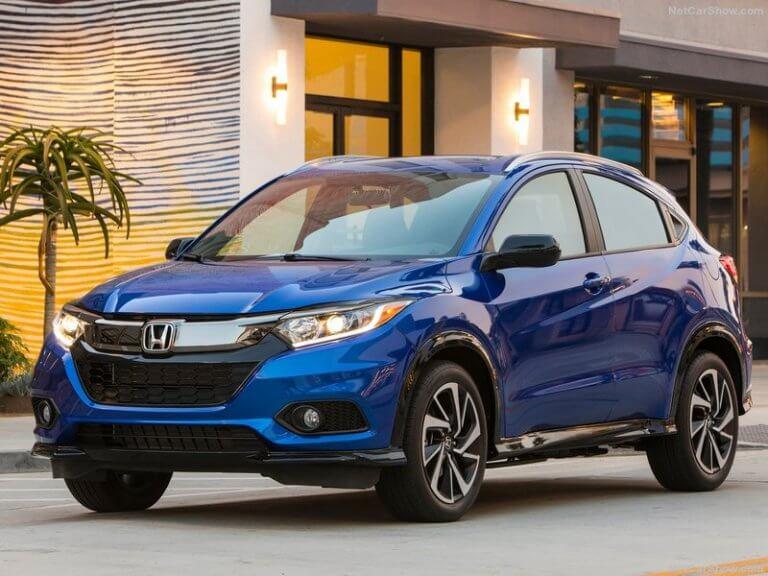 Honda HR-V 2019, maquillaje necesario
