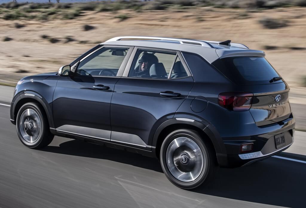 Hyundai Venue: perfil.