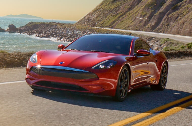 Karma Revero GT 2020: frontal.