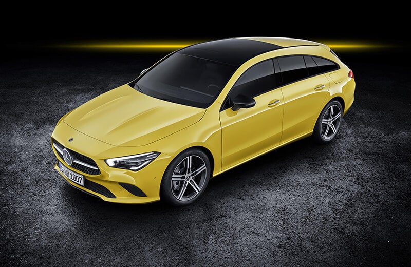 Mercedes CLA Shooting Brake, un familiar de aspecto envidiable