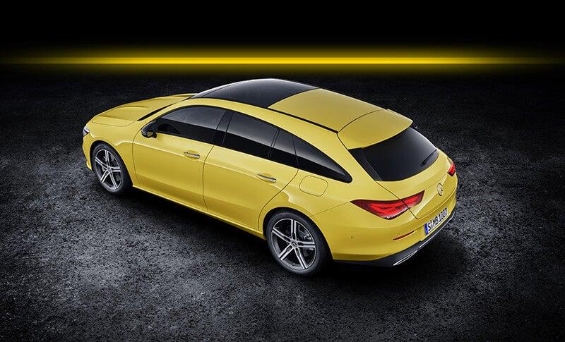 Mercedes CLA Shooting Brake: trasera