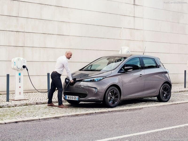 Renault Zoe 2017.