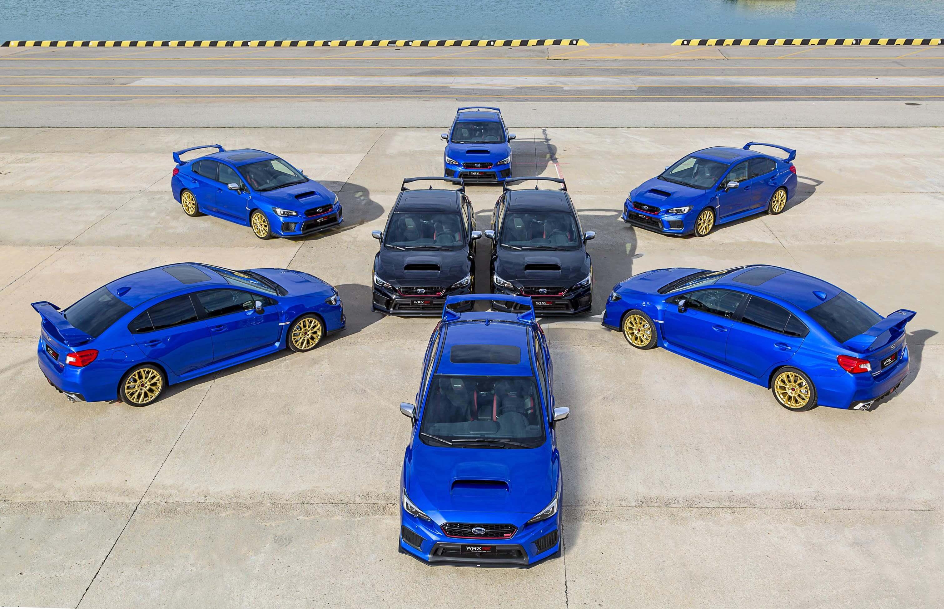 Subaru WRX STI Final Edition: 8 unidades despiden a un mito de los rallys