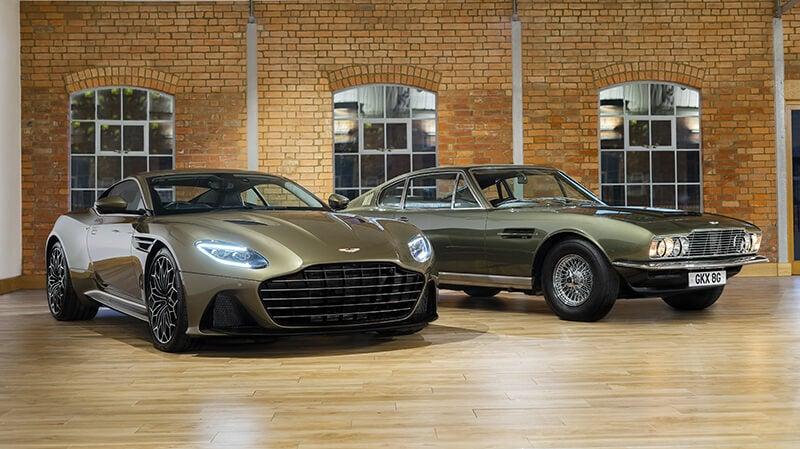 Aston Martin DBS Superleggera James Bond Edition, homenaje a 007