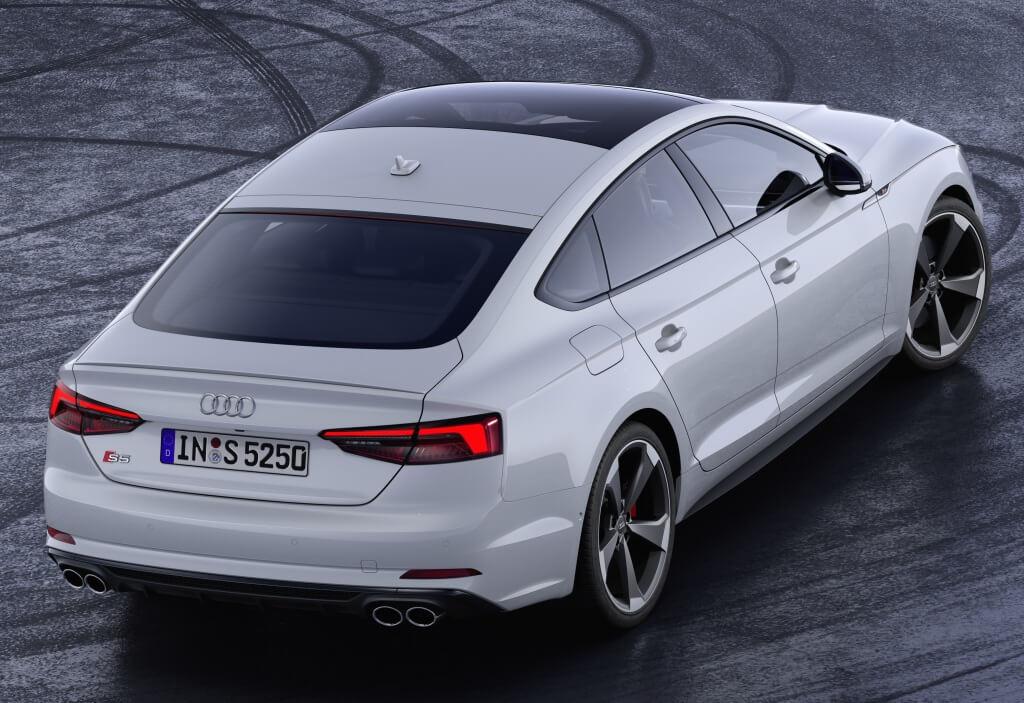 Audi S5 TDI Sportback: zaga.