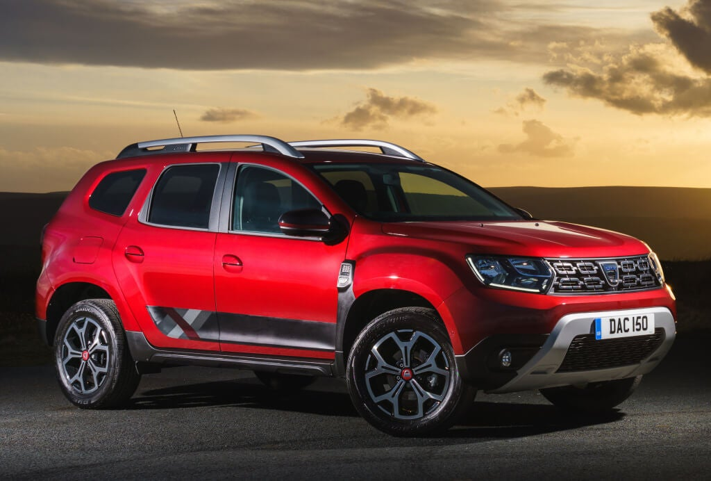 Dacia Duster Xplore: frontal.