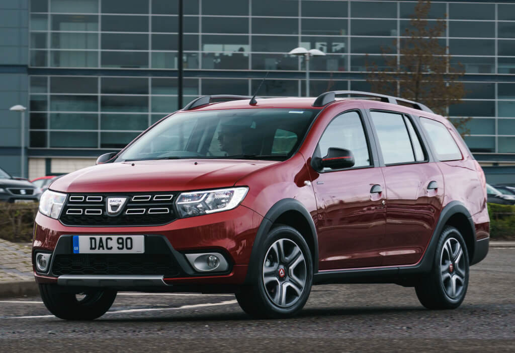 Dacia Logan MCV Stepway Xplore: frontal.