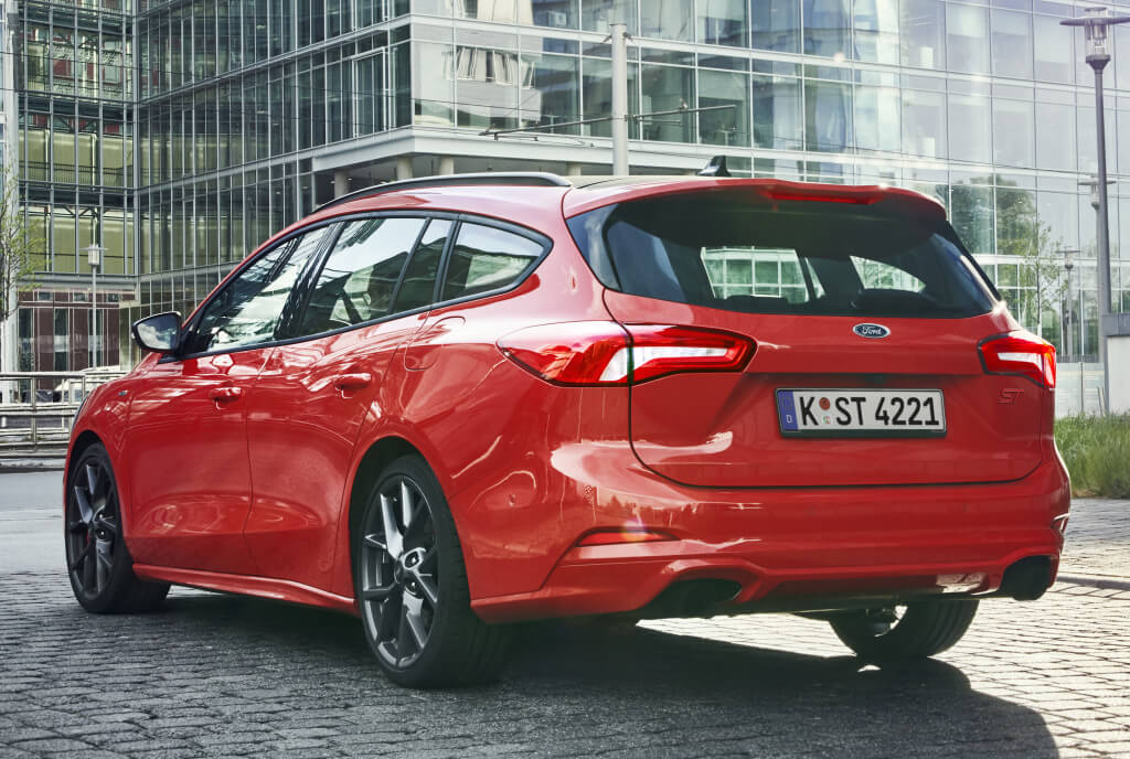 Ford Focus ST Sportbreak: trasera.