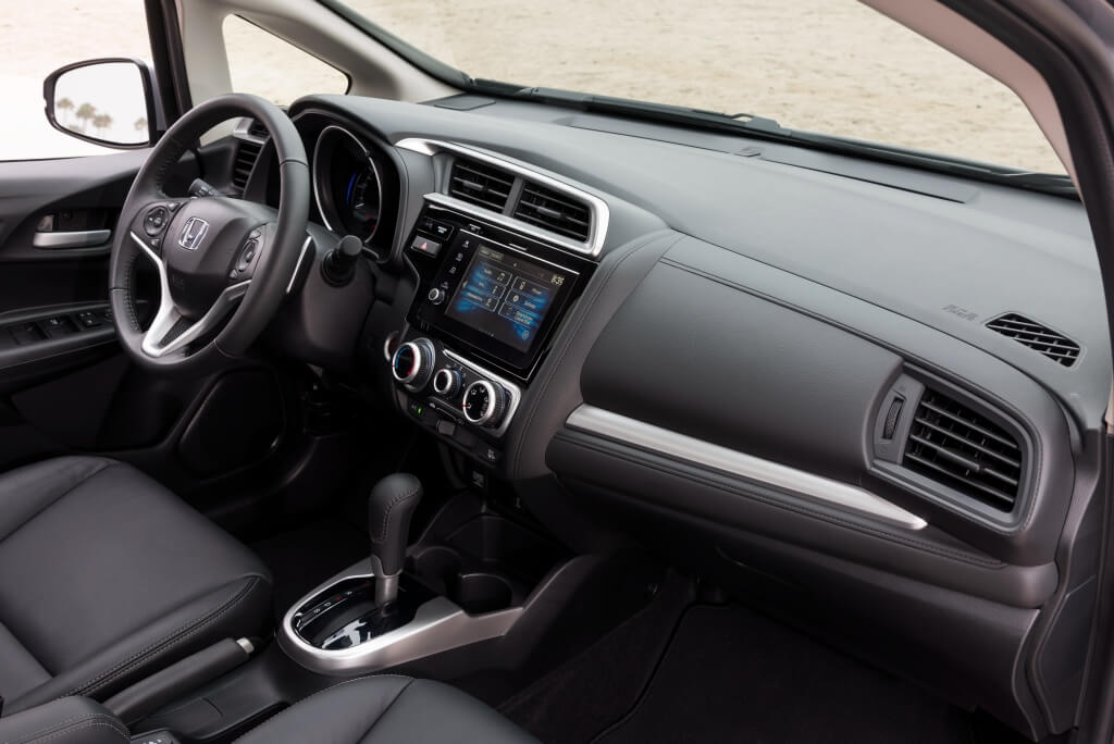 Honda Jazz: interior