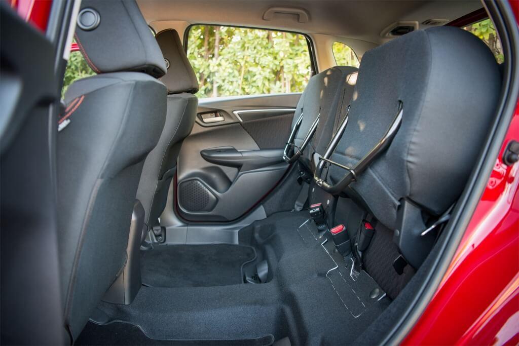 Honda Jazz: modularidad