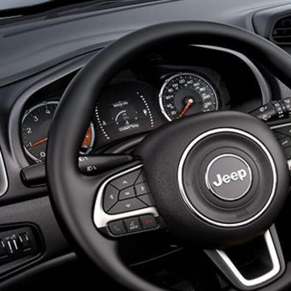 Jeep Renegade Change The Way: interior