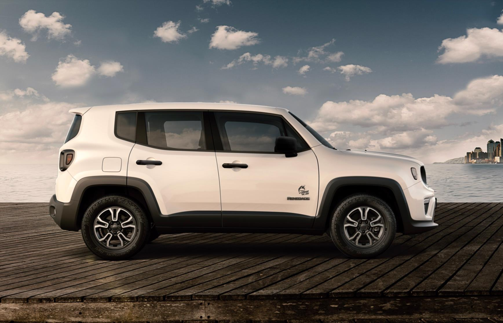 Jeep Renegade Change The Way: lateral