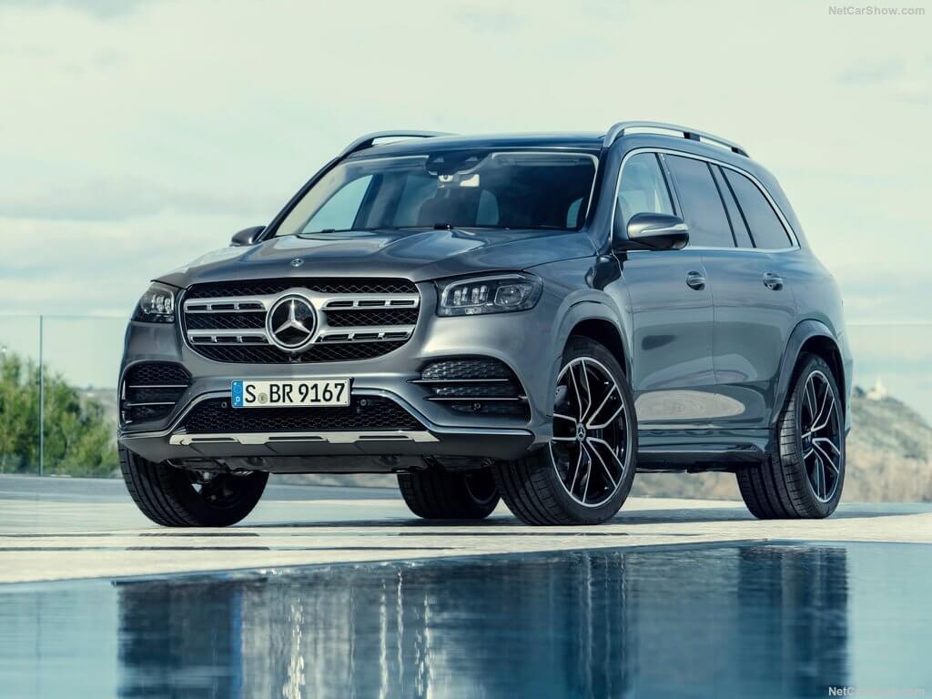 Mercedes GLS 2020, no busques, no lo hay más grande