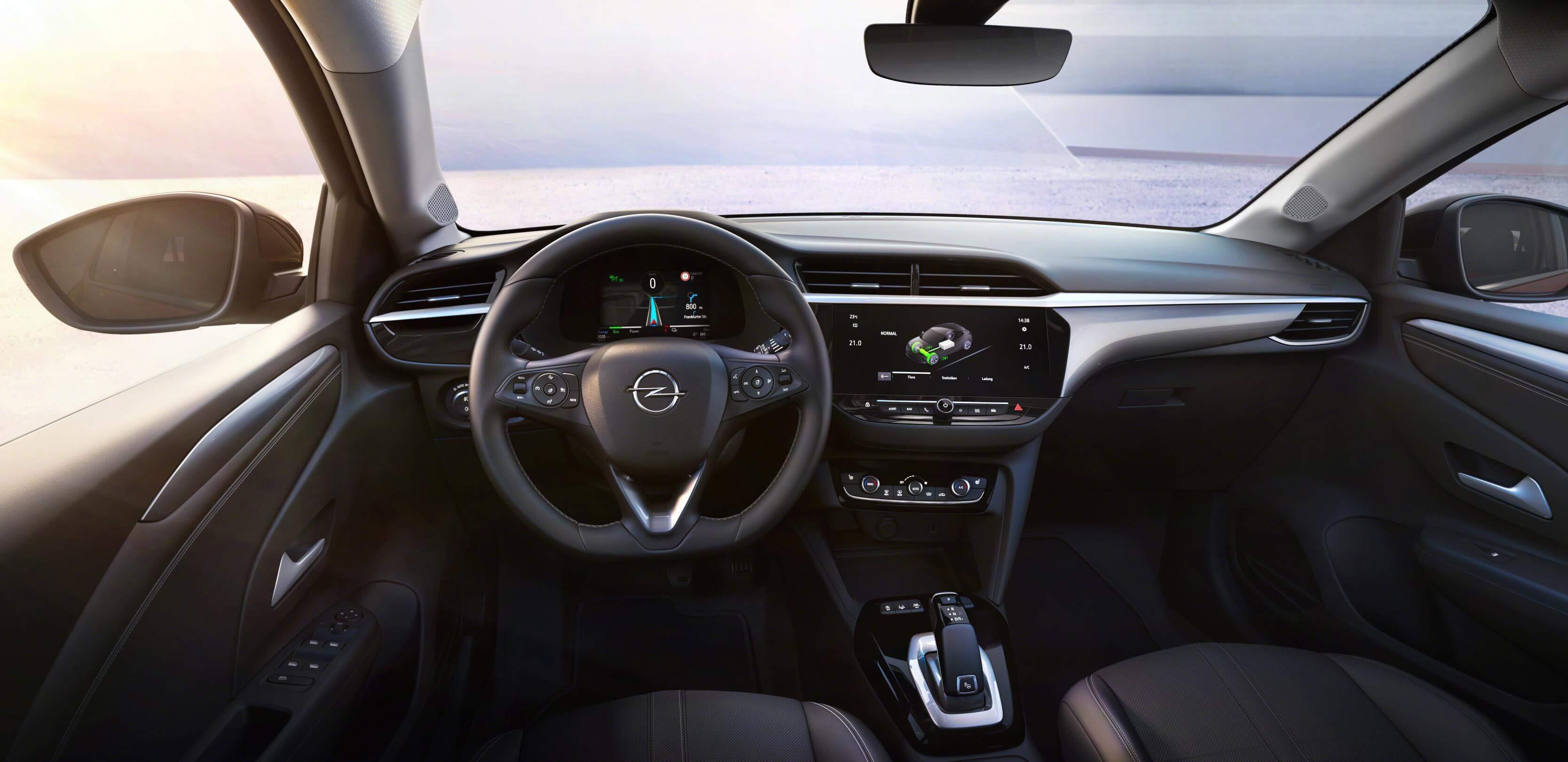 Opel Corsa-e: interior