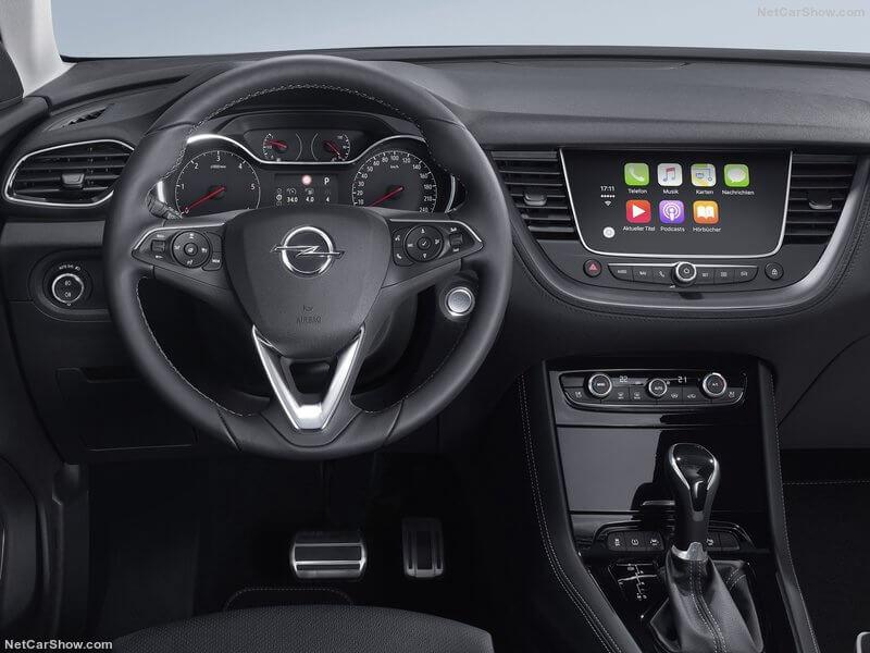 Salpicadero del Opel Grandland X.