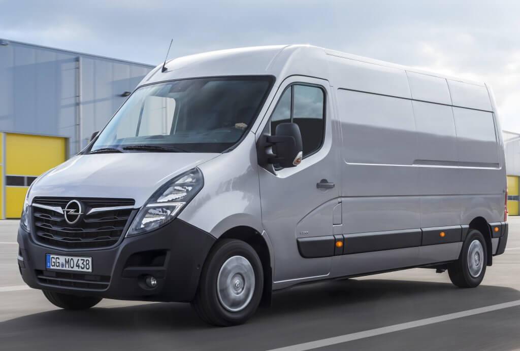 Opel Movano, más espaciosa y confortable