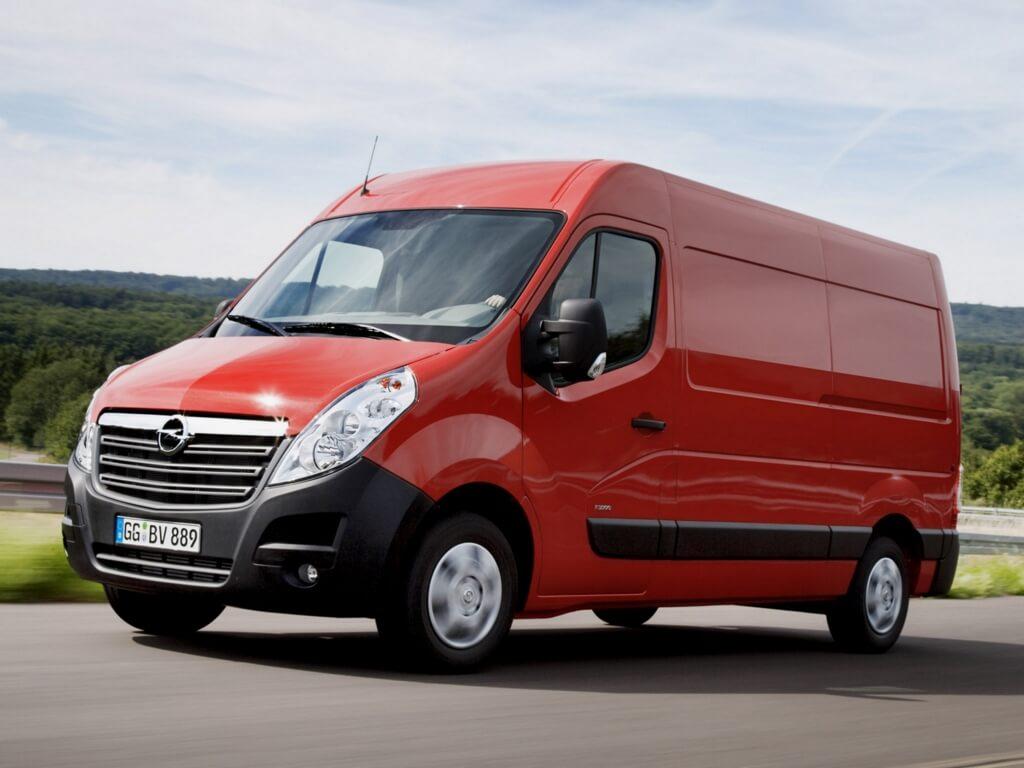 Opel Movano, diseño moderno y poderoso.