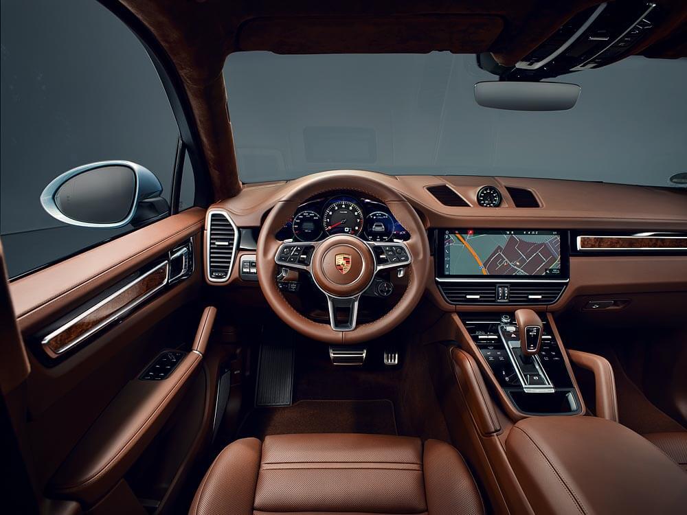 Porsche Cayenne S Coupé: interior