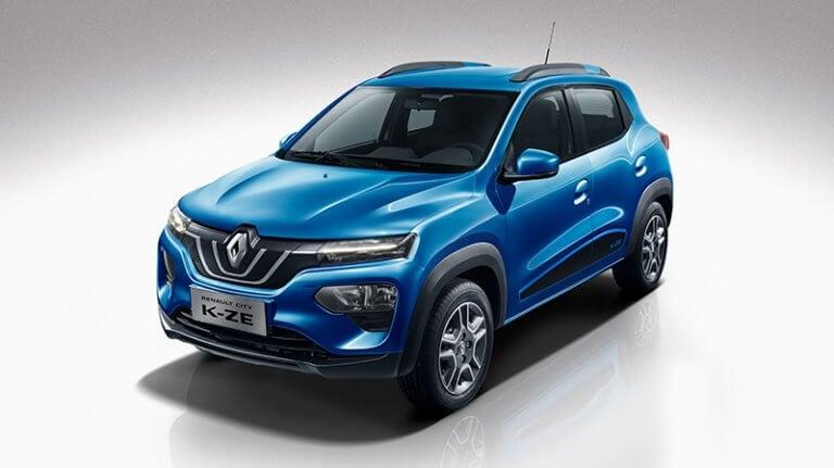 Renault City K-ZE: crossover eléctrico urbano, low-cost y fabricado en China