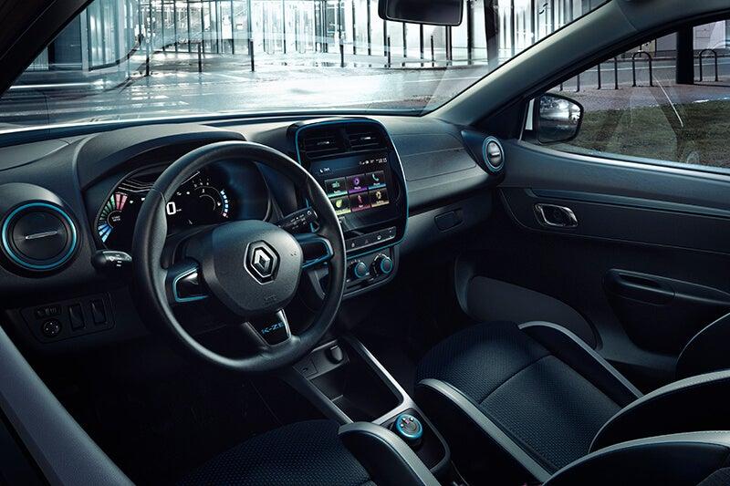 Renault City K-ZE: interior