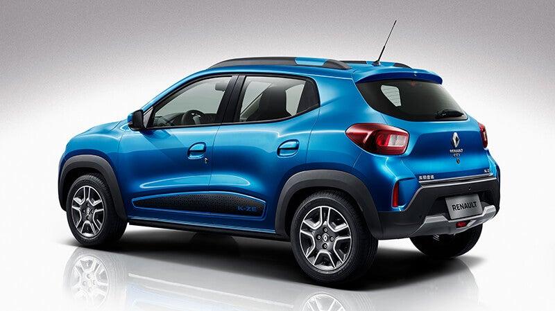 Renault City K-ZE: trasera