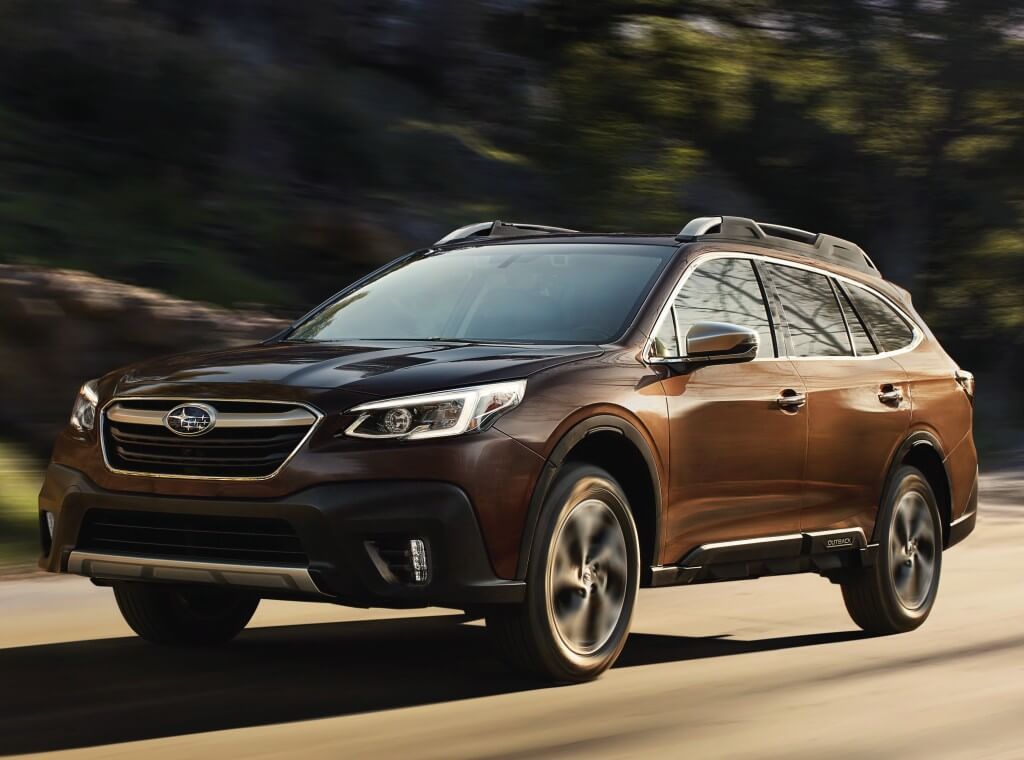 Subaru Outback 2019: frontal.