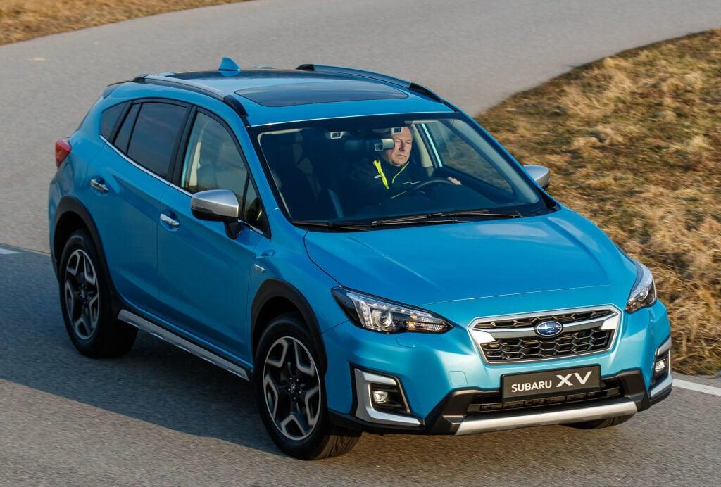 Subaru XV y Forester e-Boxer son los primeros híbridos de la marca