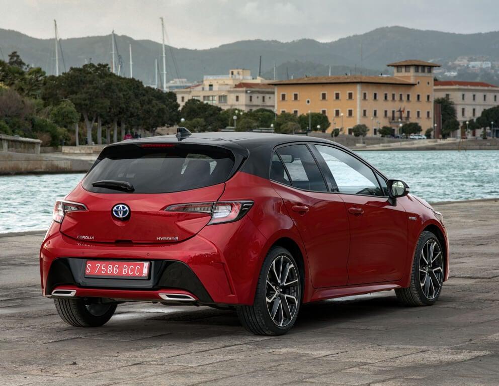 Toyota Corolla Hybrid: trasera