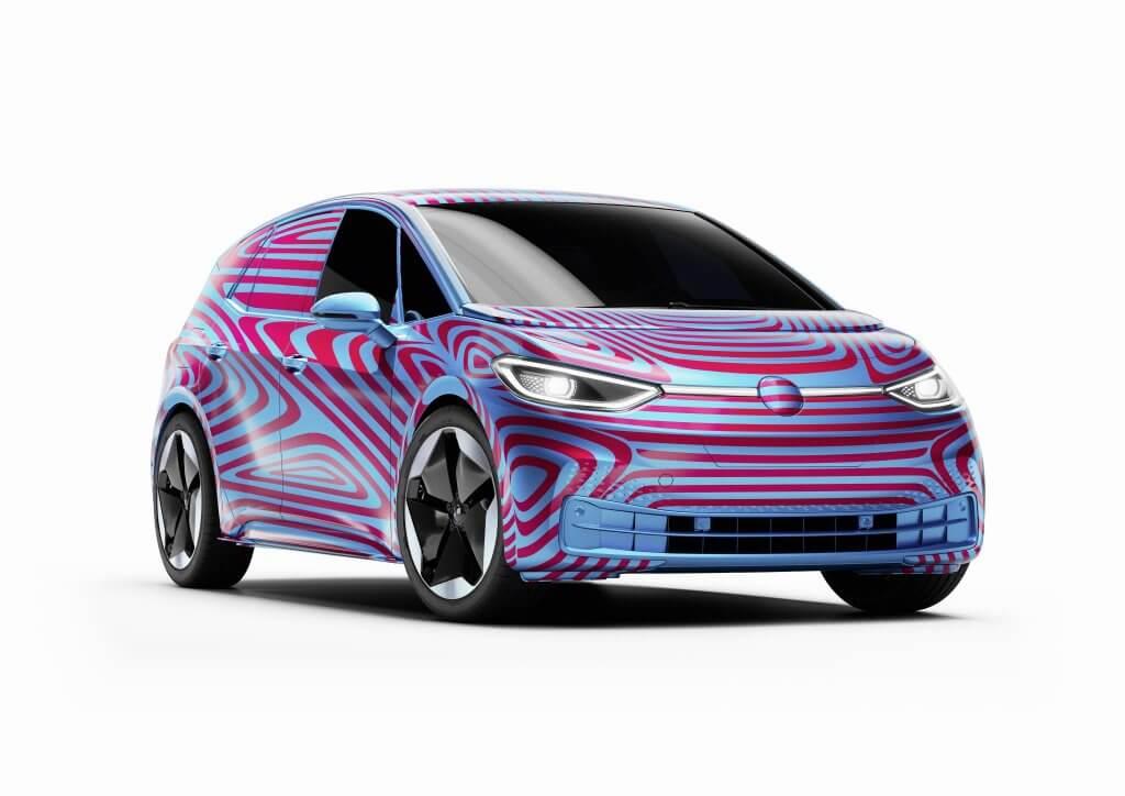 Volkswagen ID.3, compacto eléctrico con hasta 550 km de autonomía