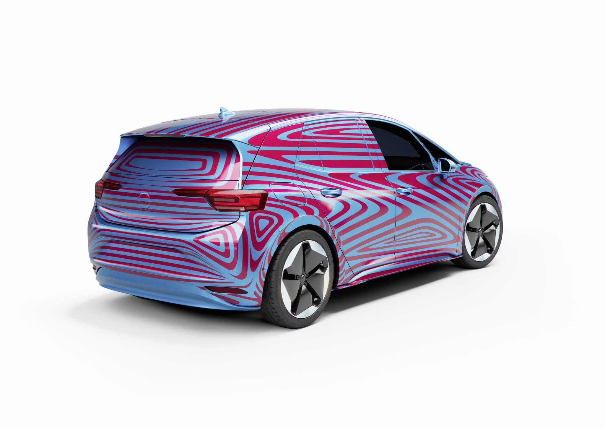 Volkswagen ID.3: trasera