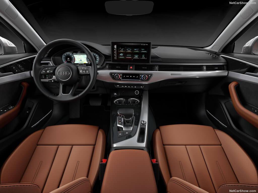 Interior del Audi A4 2020.