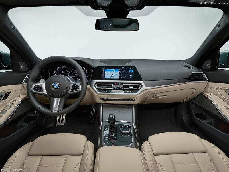 BMW Serie 3 Touring, interior.