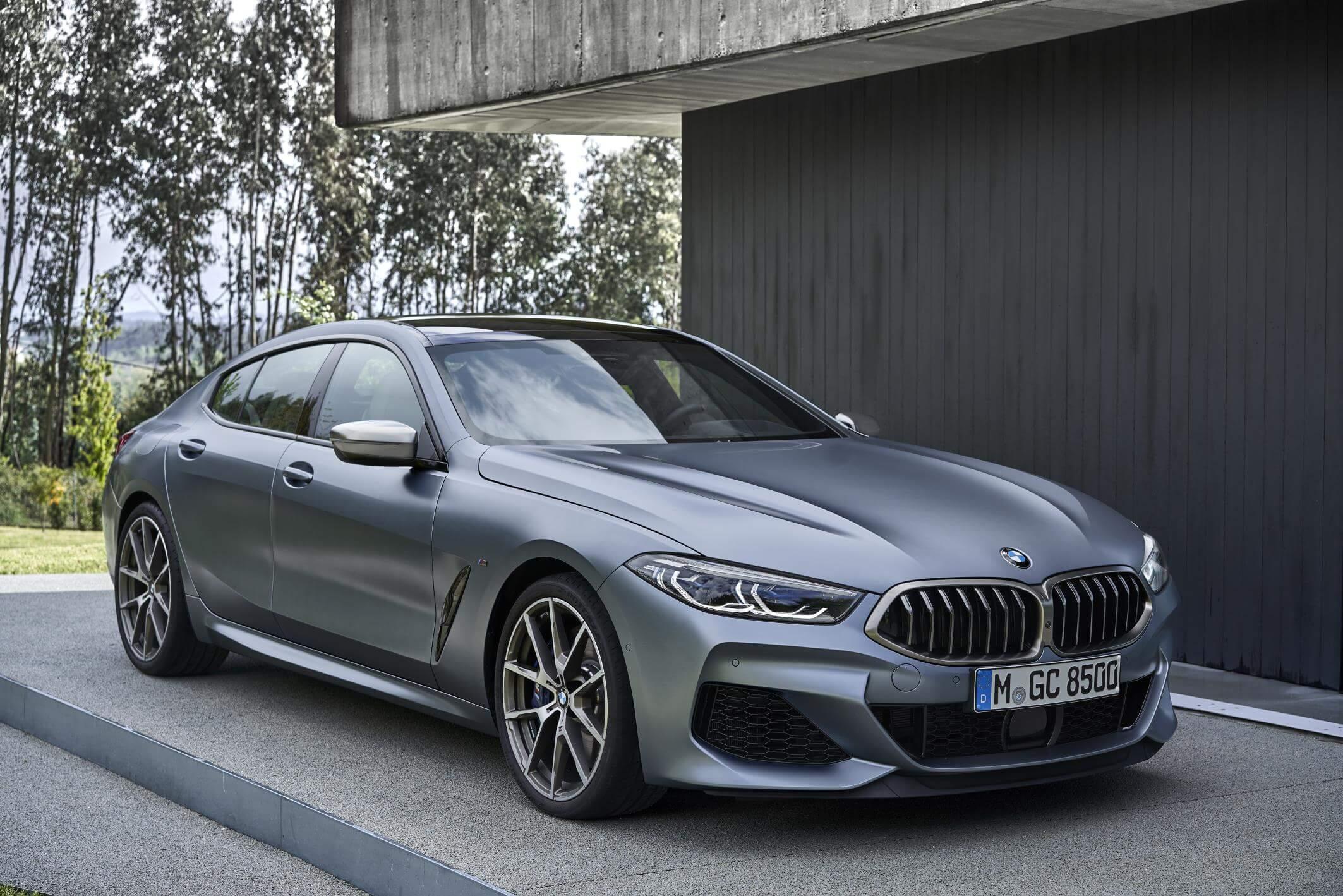BMW Serie 8 Gran Coupé: las 4 puertas no desentonan