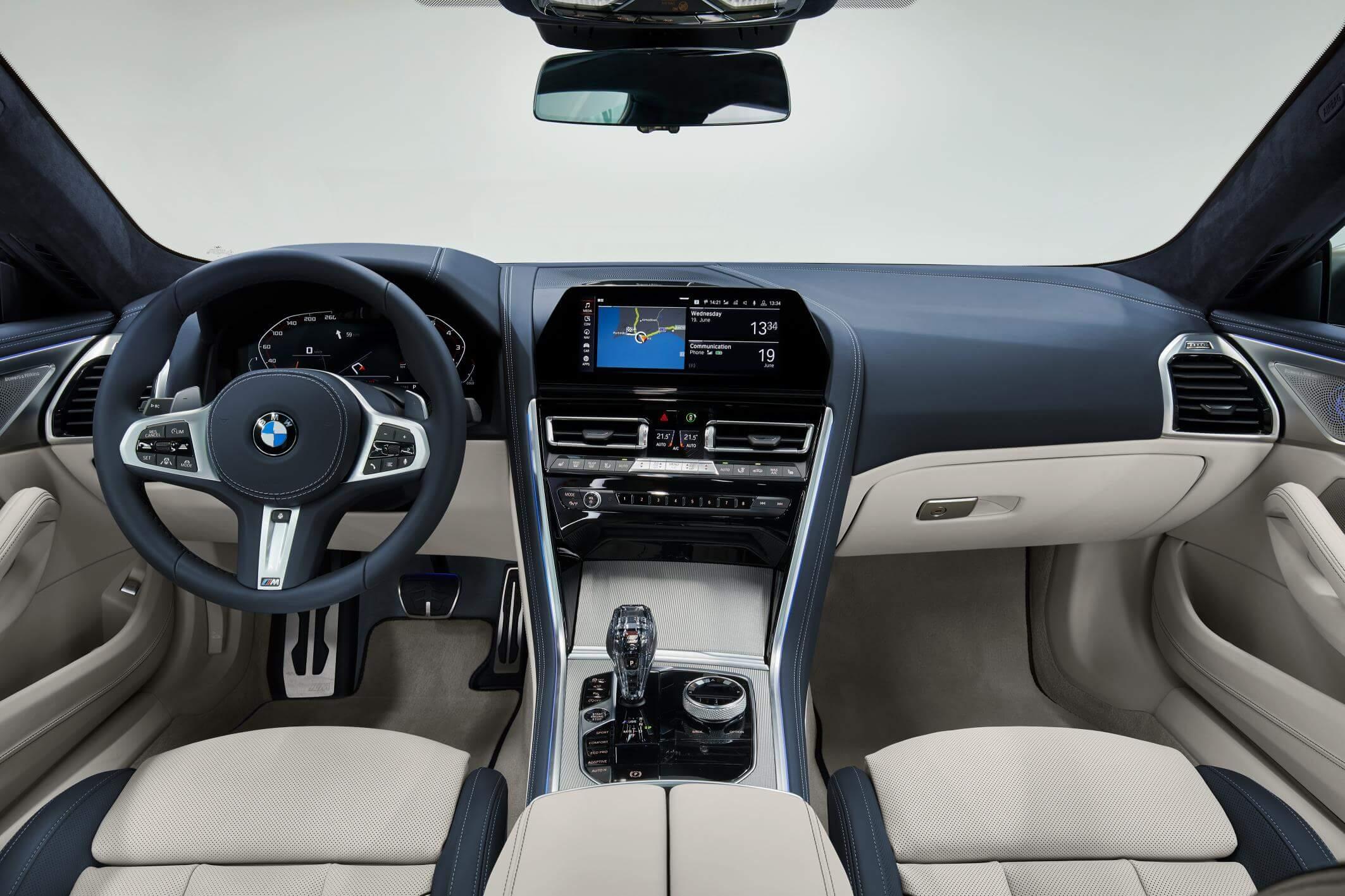 BMW Serie 8 Gran Coupé: interior