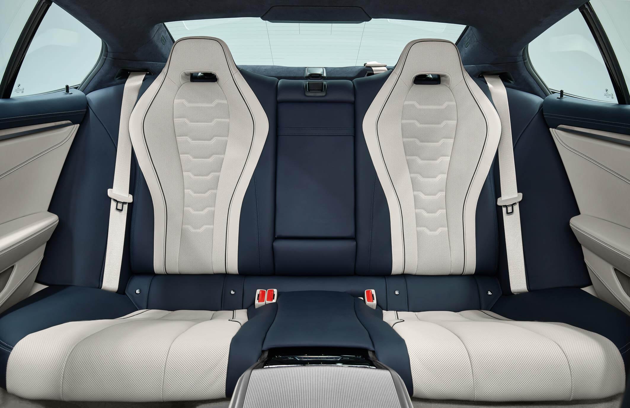 BMW Serie 8 Gran Coupé: plazas traseras