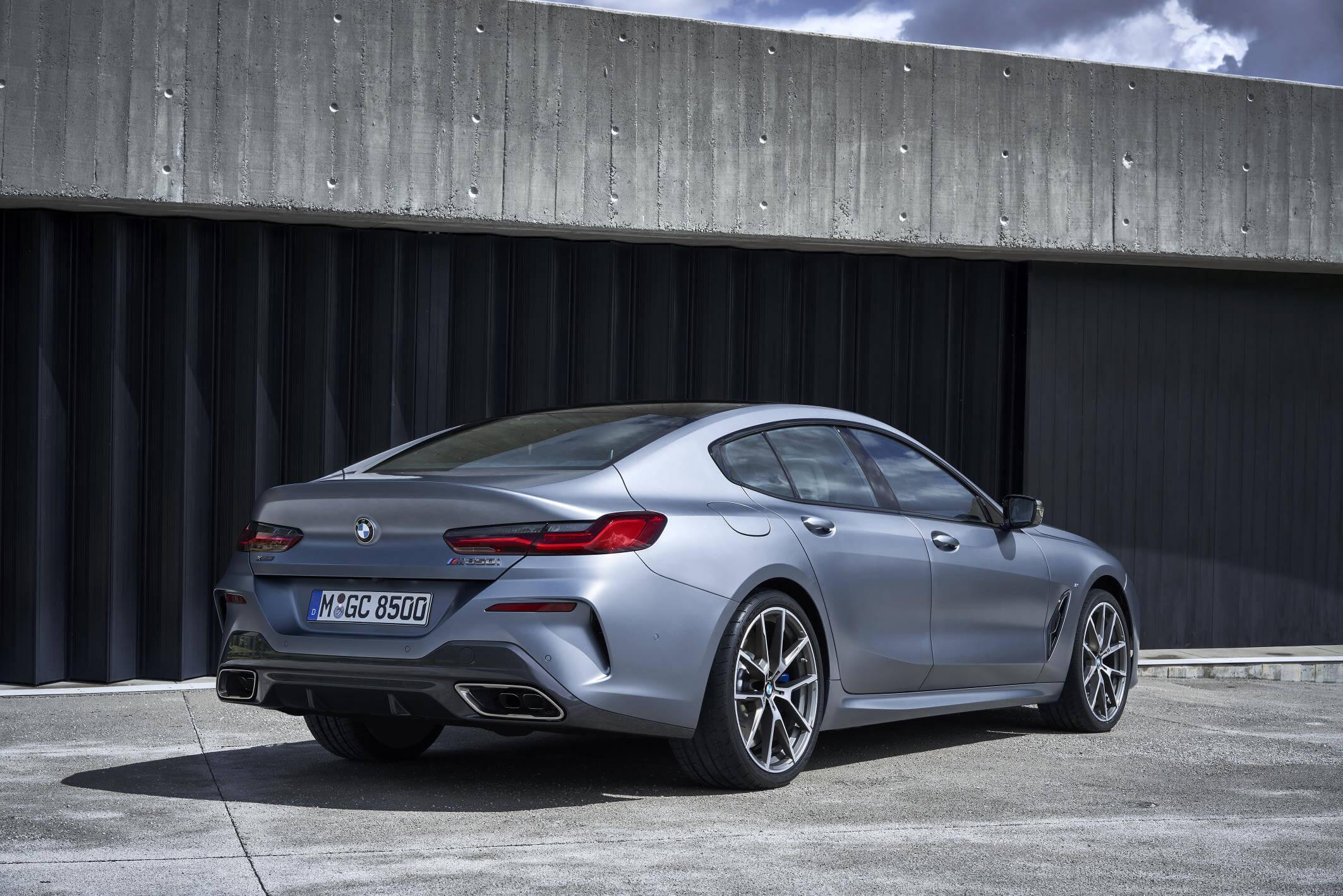 BMW Serie 8 Gran Coupé: trasera