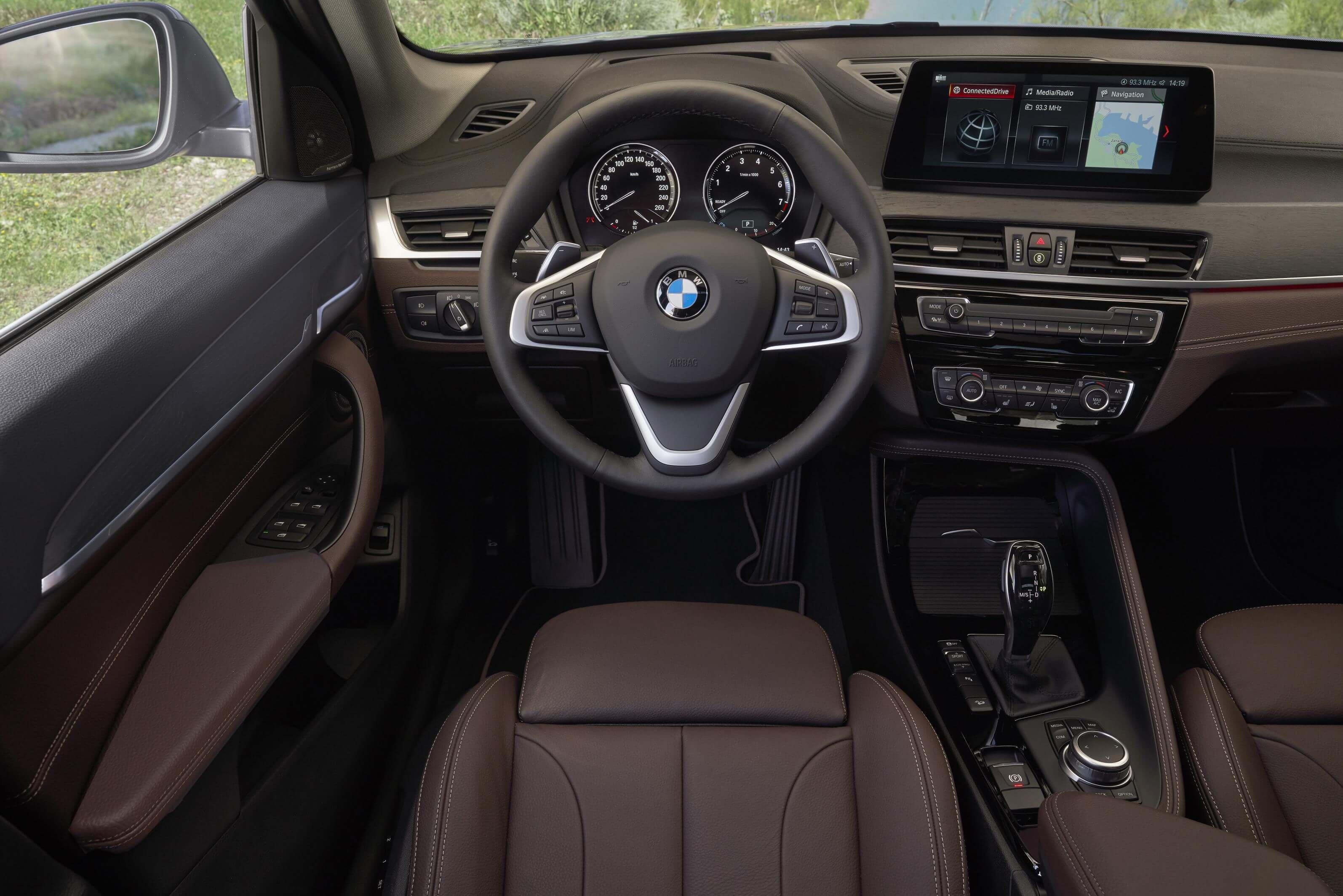 BMW X1 2019: interior