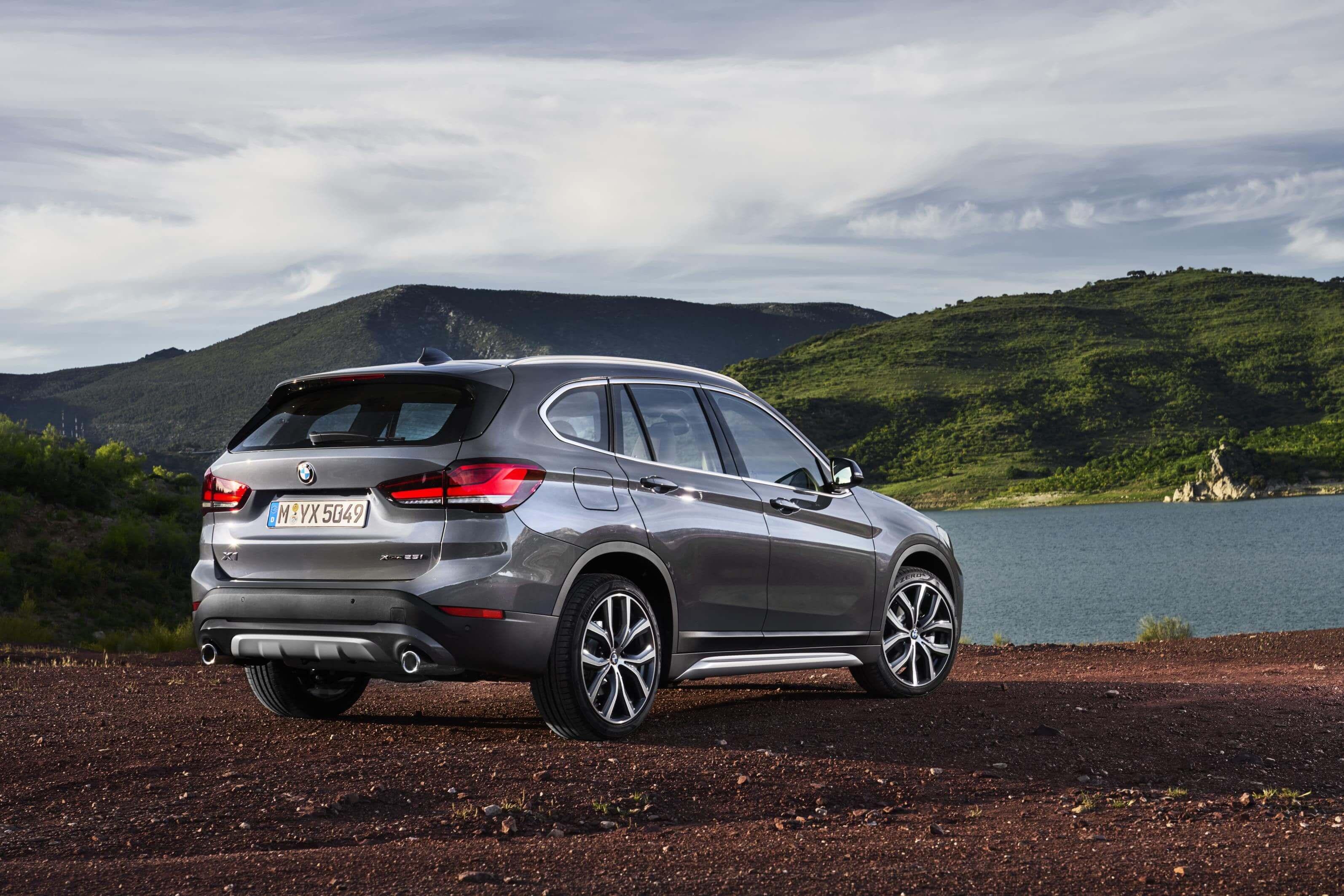 BMW X1 2019: trasera