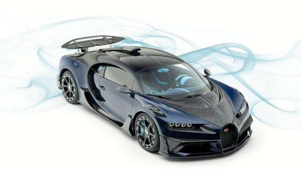 Bugatti Chiron Centuria de Mansory, por si el dinero te da igual
