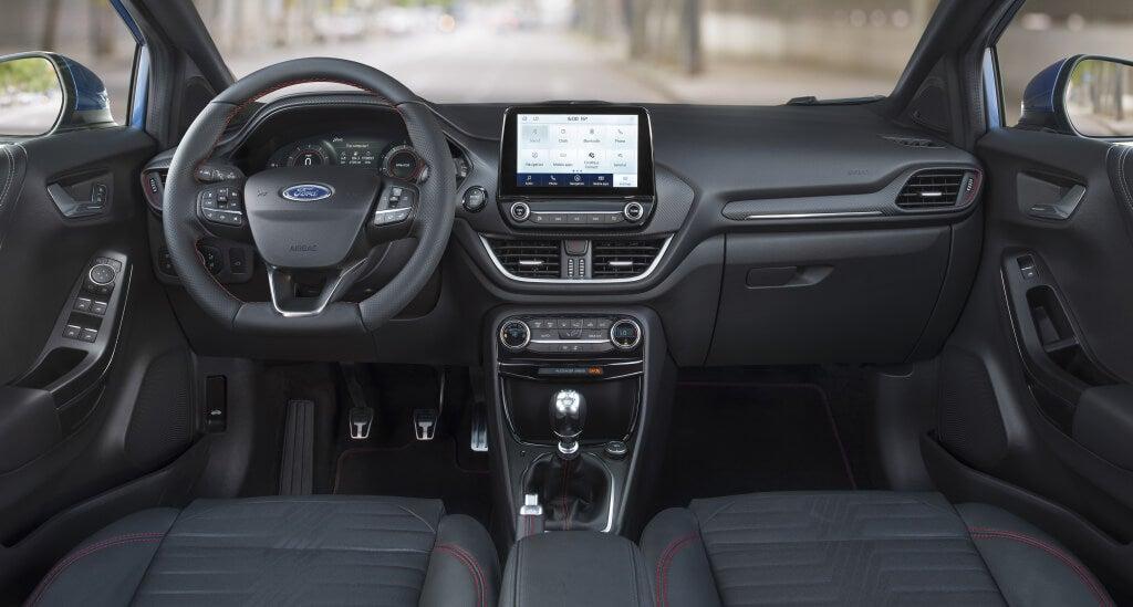 Ford Puma 2019: interior.