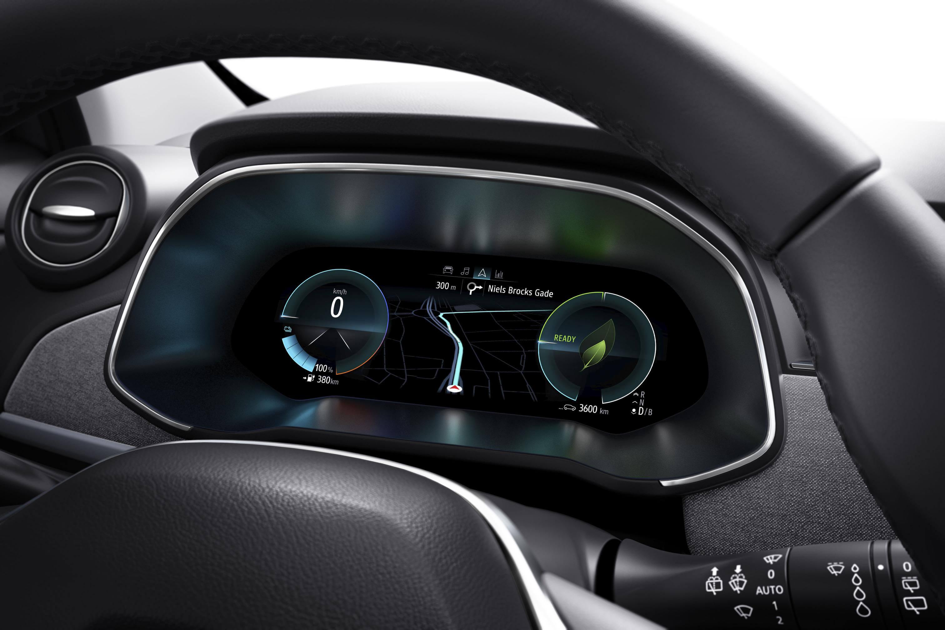 Instrumentación del Renault ZOE 2019