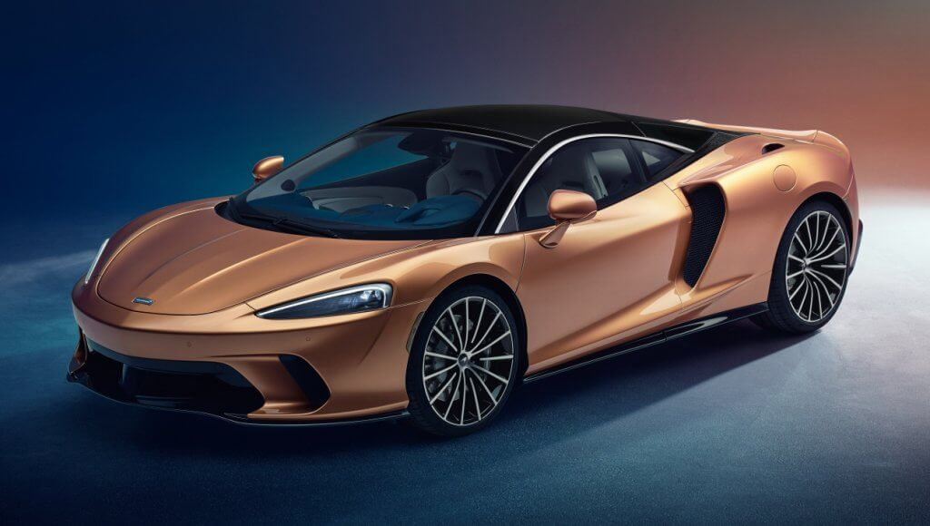 McLaren GT, el prestacional gran turismo de enorme maletero