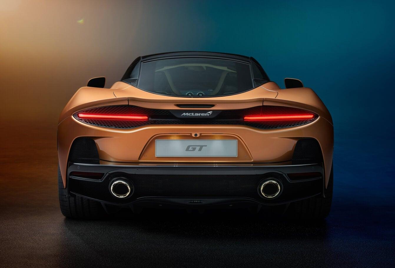 McLaren GT: trasera