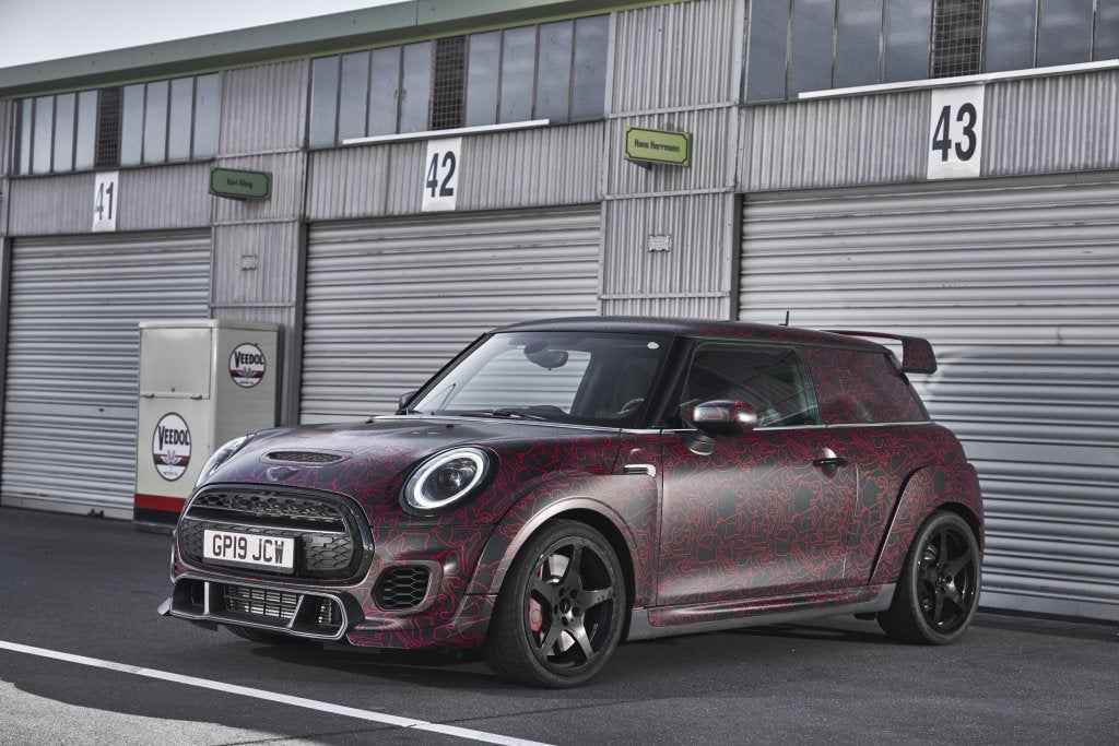 MINI John Cooper Works GP 2020: menos de 8 minutos en Nürburgring