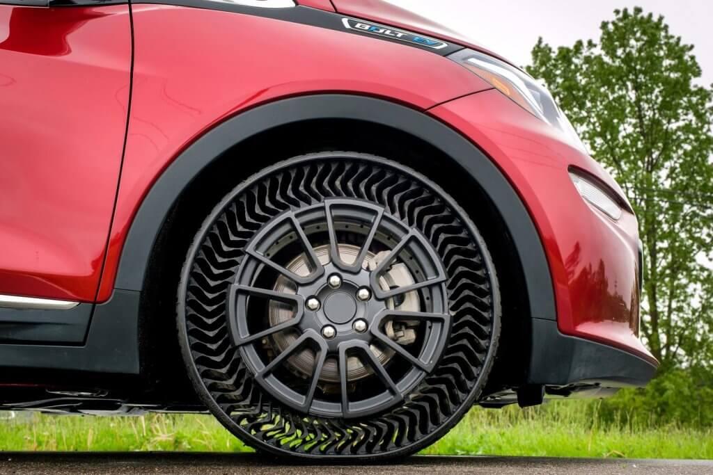 Michelin UPTIS, el revolucionario neumático sin aire