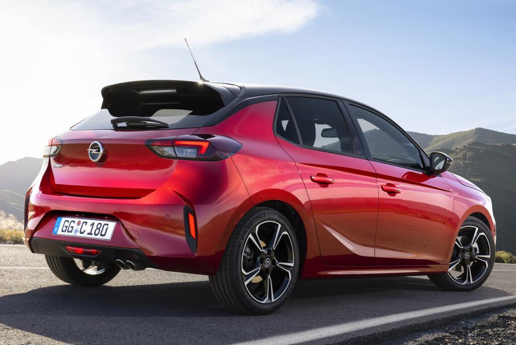 Opel Corsa GS Line 2019: zaga.