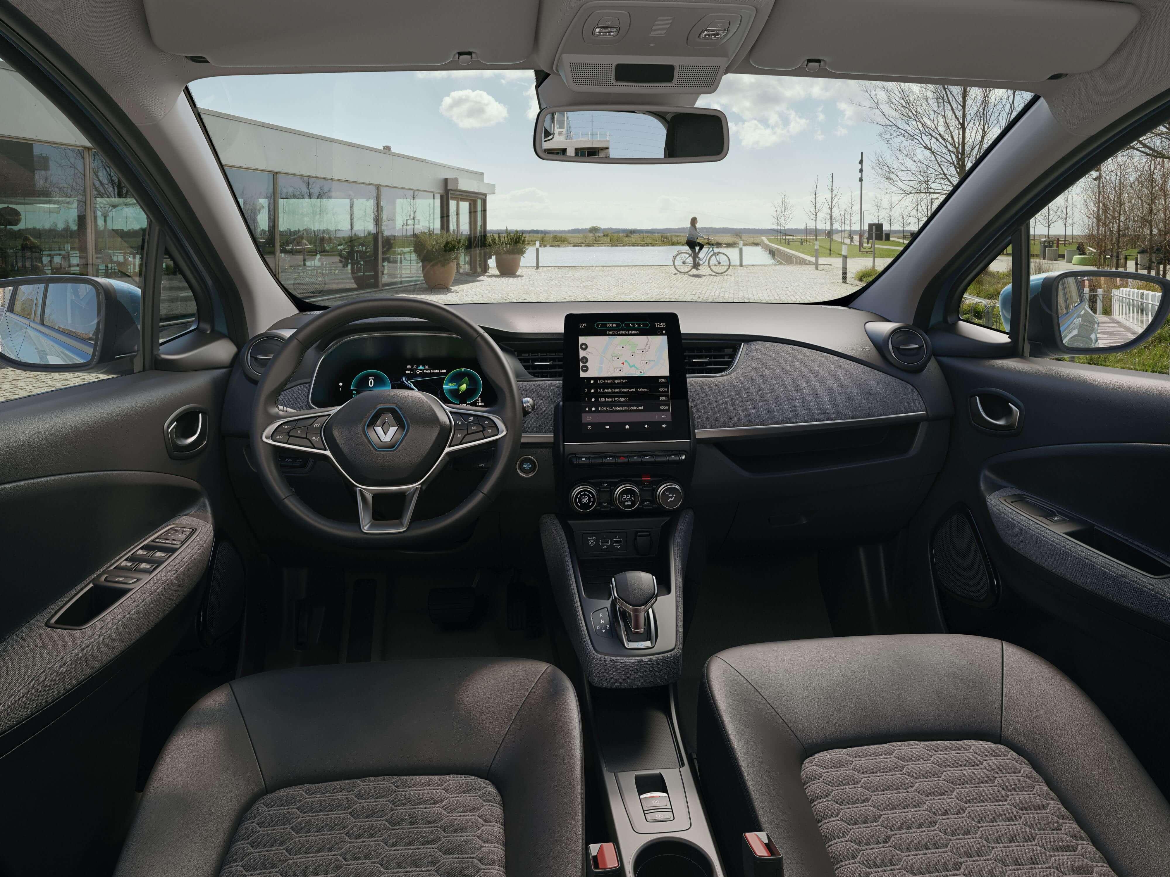 Renault ZOE 2019: interior