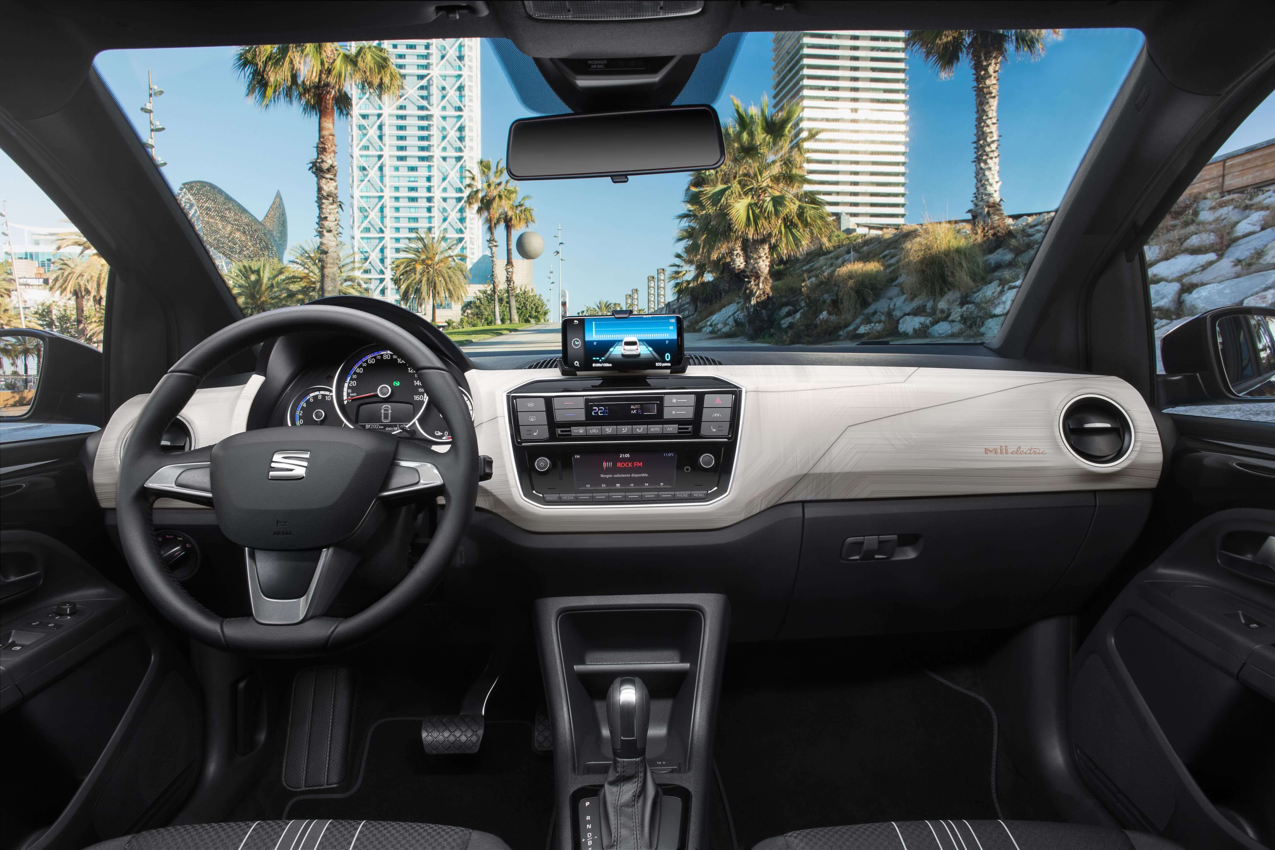 SEAT Mii Electric: interior