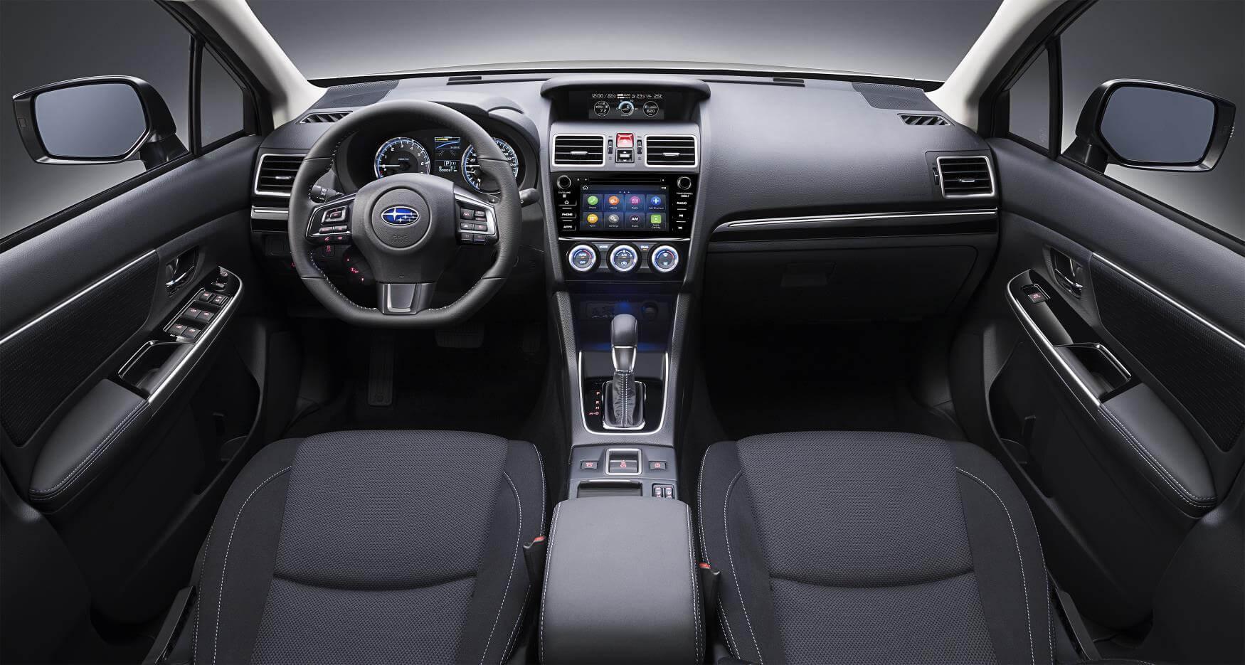 Subaru Levorg 2019: interior